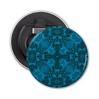 Abrebotellas negros y azules del caleidoscopio