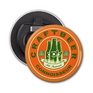 Abrebotellas Perito de la cerveza del arte - verde anaranjado 2