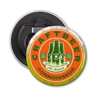 Abrebotellas Perito de la cerveza del arte - verde del naranja