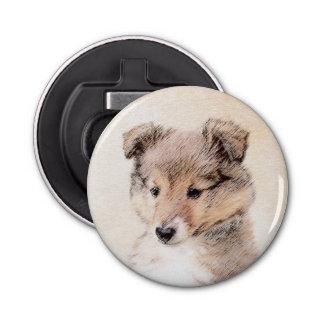 Abrebotellas Perrito del perro pastor de Shetland