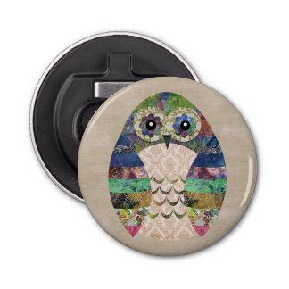 Abrebotellas Personalizado bohemio del pájaro de Boho del búho