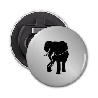 Abrebotellas Plata del elefante africano