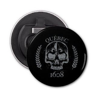 Abrebotellas Quebec patriota 1608 grunge metal Referéndum SÍ