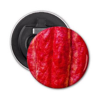 Abrebotellas rojo de la vaina del cacao