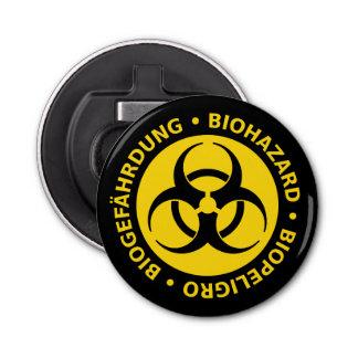 Abrebotellas Señal de peligro del Biohazard