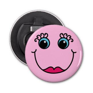 Abrebotellas Señora Smiley Face Light-pink