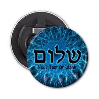 Abrebotellas Shalom en fractal azul