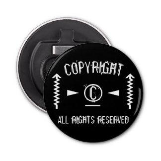 Abrebotellas Símbolo de Copyright todos los derechos reservados