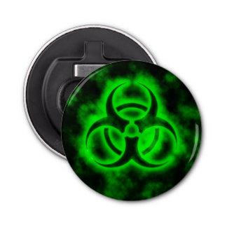 Abrebotellas Símbolo verde del Biohazard