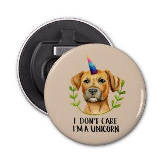 """Abrebotellas """"Soy ilustracion del perro del pitbull DE UN"""