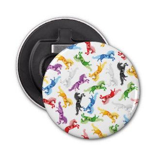 Abrebotellas Unicornio coloreado del modelo
