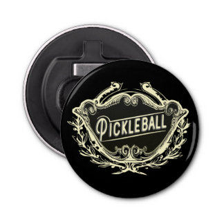 Abrebotellas Vintage elegante de Pickleball