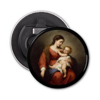 Abrebotellas Virgen y niño de Cristo