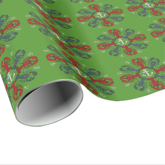Abrigo de N.S. Christmas del ancla del copo de Papel De Regalo