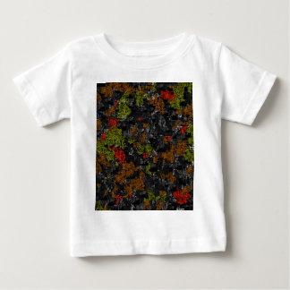 Abstracción del otoño camiseta de bebé