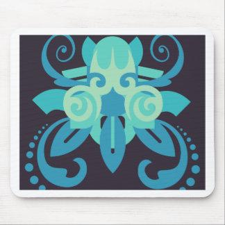 Abstracción dos Poseidon Alfombrilla De Ratón
