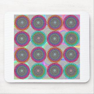 Abstracción geométrica alfombrilla de ratón