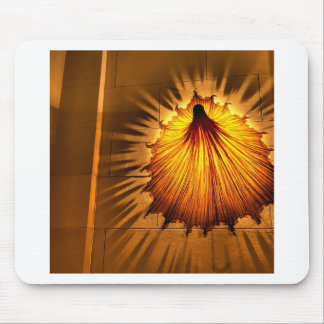 Abstracto refresque el vestido de la luz alfombrilla de ratón