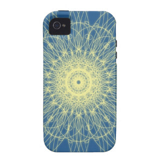 Abstrato floral abstracto floral Case-Mate iPhone 4 funda