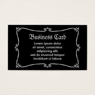 Abucheo del fantasma tarjeta de negocios