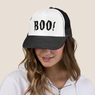¡Abucheo! Gorra del camionero de Halloween