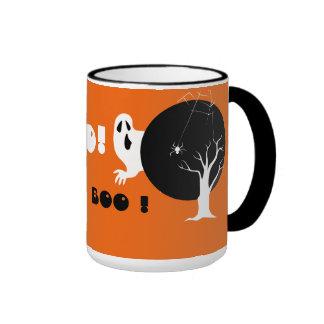 ¡Abucheo Halloween Tazas De Café