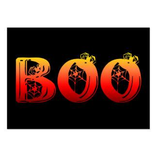 Abucheo Halloween Plantillas De Tarjeta De Negocio