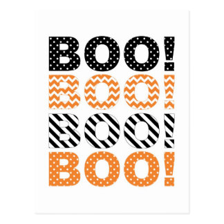 ¡Abucheo! Tarjeta de Halloween