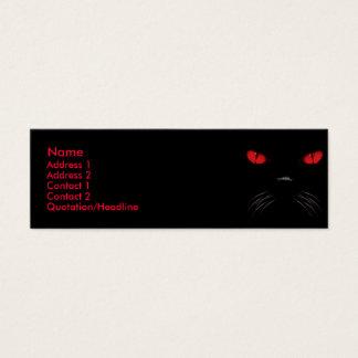 Abucheo - tarjetas de rubíes del perfil