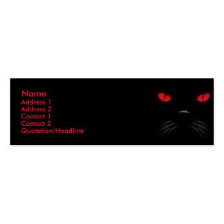 Abucheo - tarjetas de rubíes del perfil plantilla de tarjeta personal