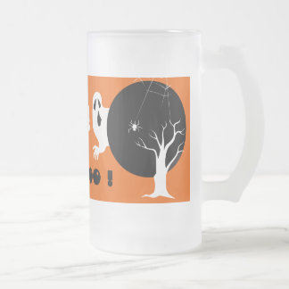 ¡Abucheo! Taza del regalo de Halloween