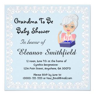 Abuela a ser invitación de la fiesta de bienvenida
