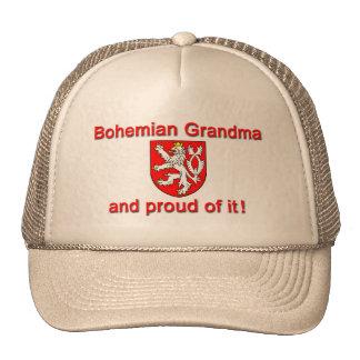 Abuela bohemia orgullosa gorras