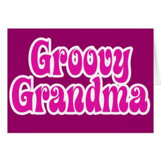 Abuela de Grrovy Tarjeta De Felicitación