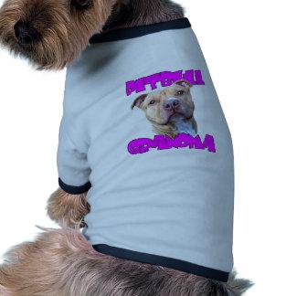 Abuela de Pitbull Camisa De Perro