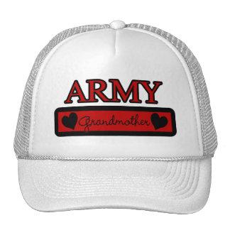 Abuela del ejército gorros