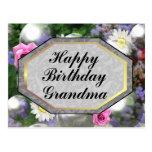 Abuela del feliz cumpleaños postales