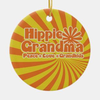 Abuela del Hippie Ornamentos De Reyes