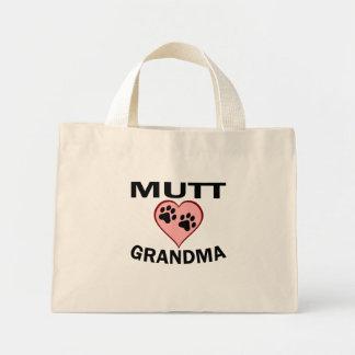 Abuela del Mutt Bolsa Tela Pequeña