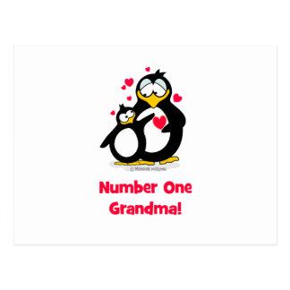 Abuela del número uno postal