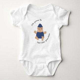 Abuela experimental body para bebé