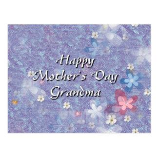 Abuela feliz del día de madre postales