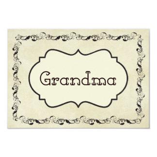 Abuela Invitación 8,9 X 12,7 Cm