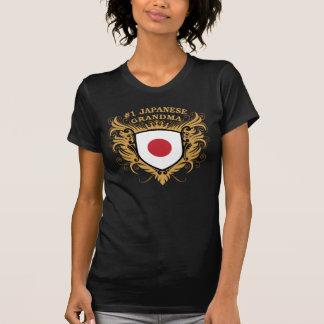Abuela japonesa del número uno camisetas