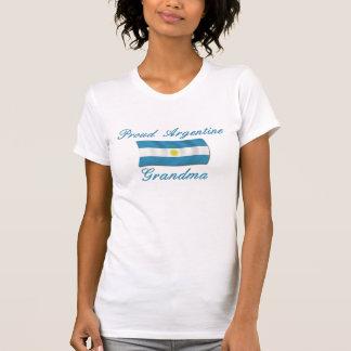 Abuela orgullosa de Argentina Camisetas