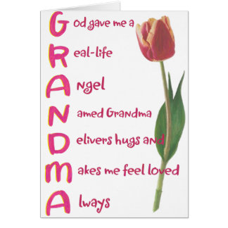 abuela felicitacion
