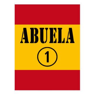 Abuelas españolas: Uno de Abuela Numero Postal
