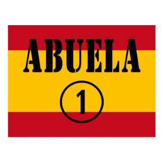 Abuelas españolas: Uno de Abuela Numero Tarjetas Postales