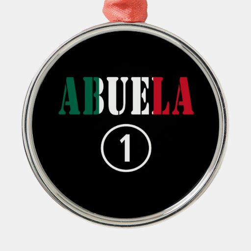 Abuelas mexicanas: Uno de Abuela Numero Ornamento Para Arbol De Navidad