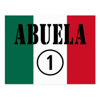 Abuelas mexicanas: Uno de Abuela Numero Postal